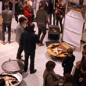 Vernissage de l'exposition du Brasero