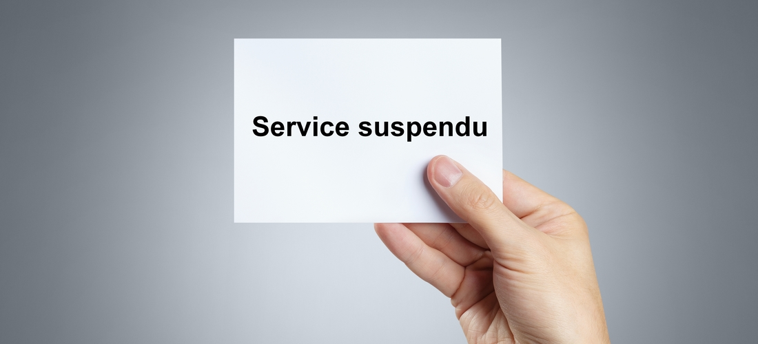 DSW-NEWS-20201030-SERVICE-SUSPENDU
